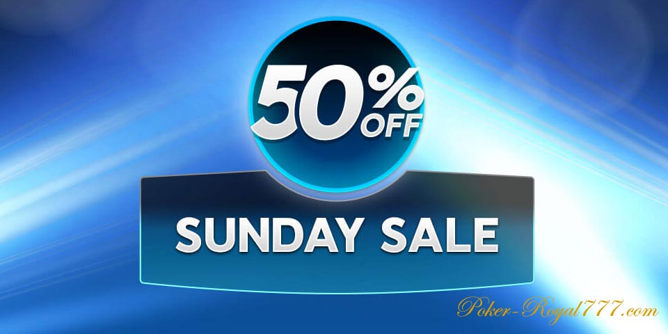 888 Poker Sunday Sale